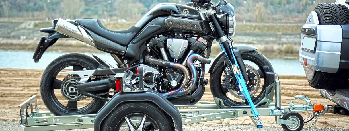 Прицеп для перевозки мотоцикла