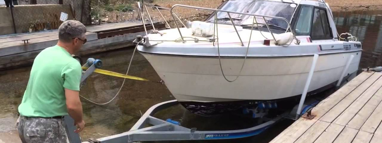 Прицеп для перевозки катера
